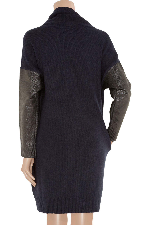 Stella McCartney Dran wool and cashmere-blend sweater dress