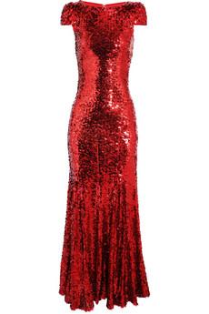 Rachel Gilbert|Simone sequined gown |NET-A-PORTER.COM from net-a-porter.com