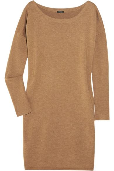 8bb0cca7bbb J.Crew. Merino wool-blend sweater dress