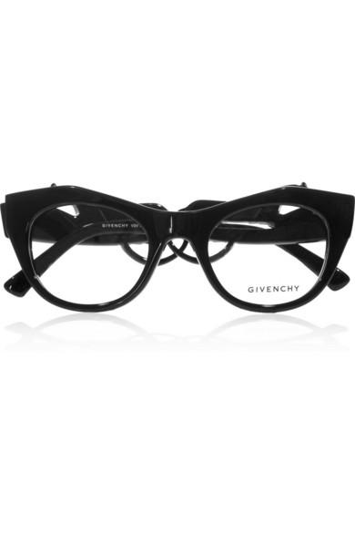 884272e6f7ae Givenchy | Angular cat eye-frame acetate optical glasses | NET-A-PORTER.COM