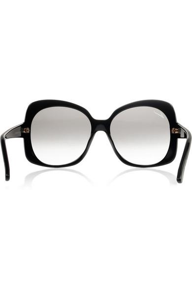 d63314c77b3 Gucci. Oversized-frame acetate sunglasses
