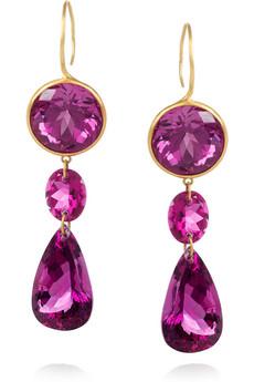 Earrings ♥♥حصريالأقراط الرمضانية,لنرمين عايشأقراط بألوان جذابة أقراط بالأحجار