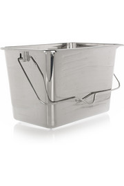 Mirrored-stainless steel champagne bucket