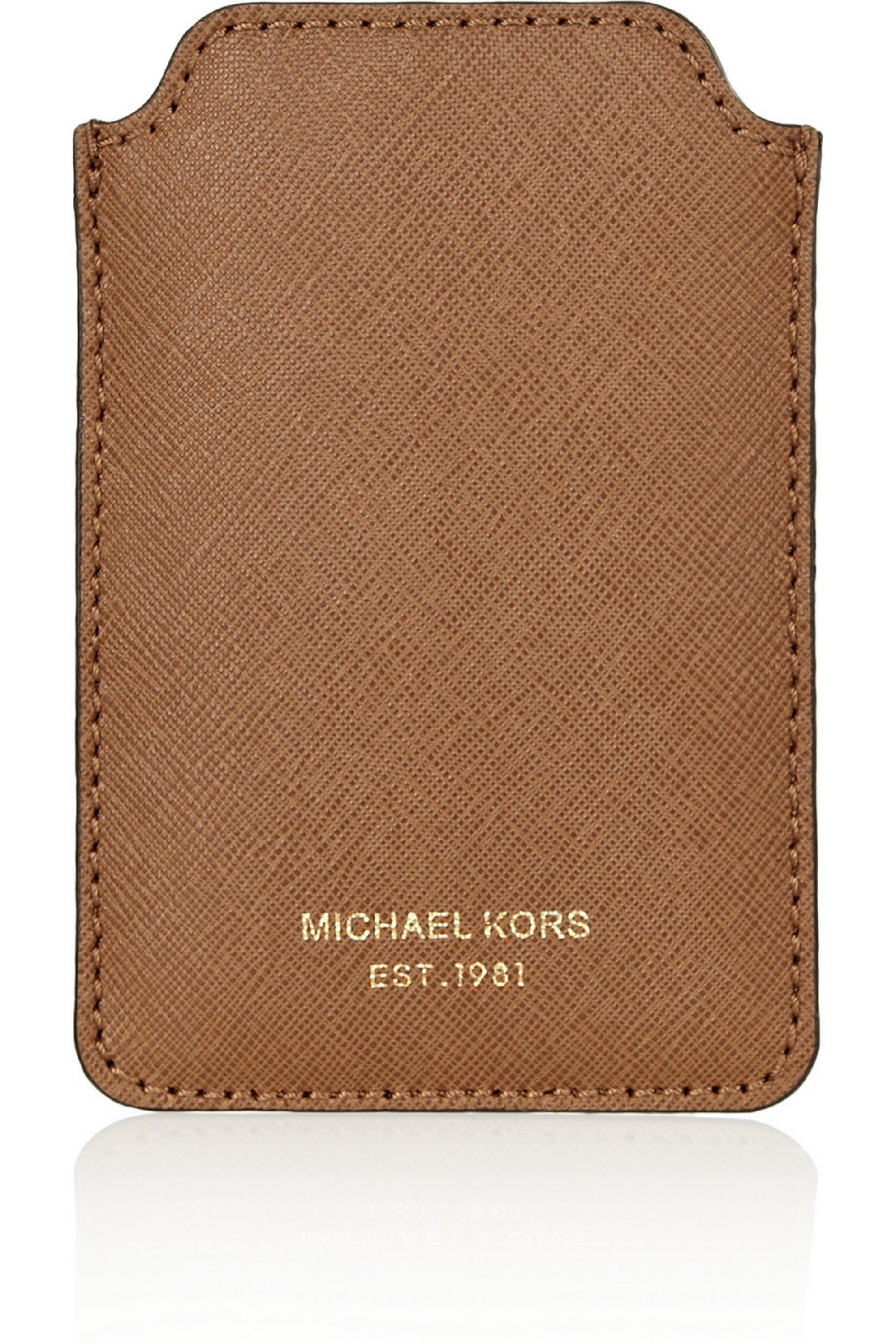 MICHAEL Michael Kors Textured-leather iPhone sleeve