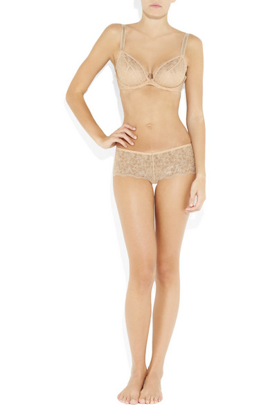 efdc6475c6 Rigby   Peller. Embroidered lace underwired bra