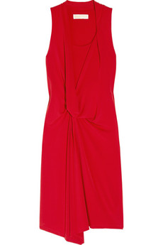 MICHAEL Michael Kors | Gathered stretch-jersey dress | NET-A-PORTER.COM