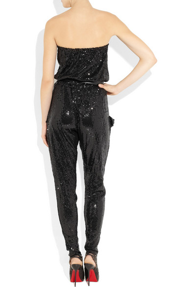 b6443424b12 MICHAEL Michael Kors. Strapless sequined jumpsuit. €199.50. Zoom In