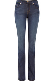 818 Power Stretch mid-rise bootcut jeans