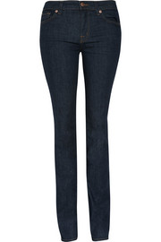 814 mid-rise straight-leg jeans