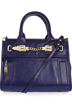 Milly | Victoria Medium leather tote | NET-A-PORTER.COM from net-a-porter.com