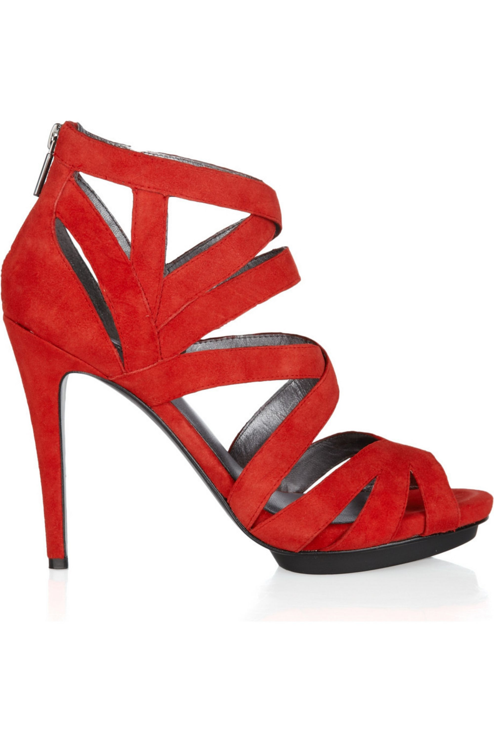 DKNY Marcey suede sandals