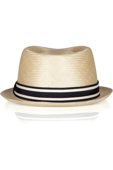 Gucci. Straw boat hat.  162.50. Zoom In 30b8af5b854