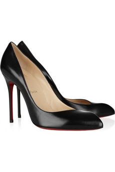 LOUBOUTIN Corneille 100 leather pumps