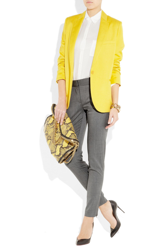 Stella McCartney Velez wool-twill skinny pants