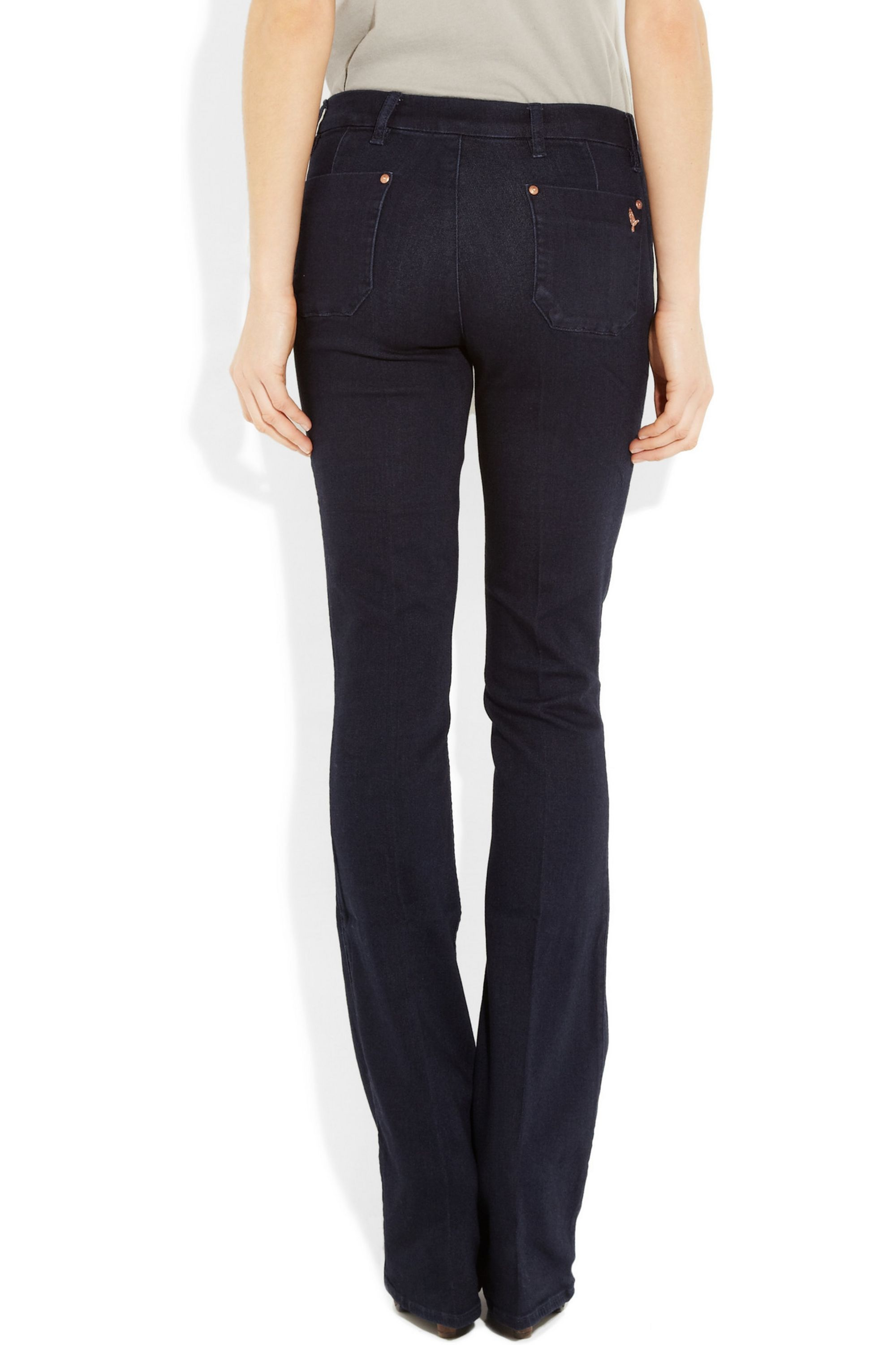 M.i.h Jeans Skinny Marrakesh mid-rise flared jeans