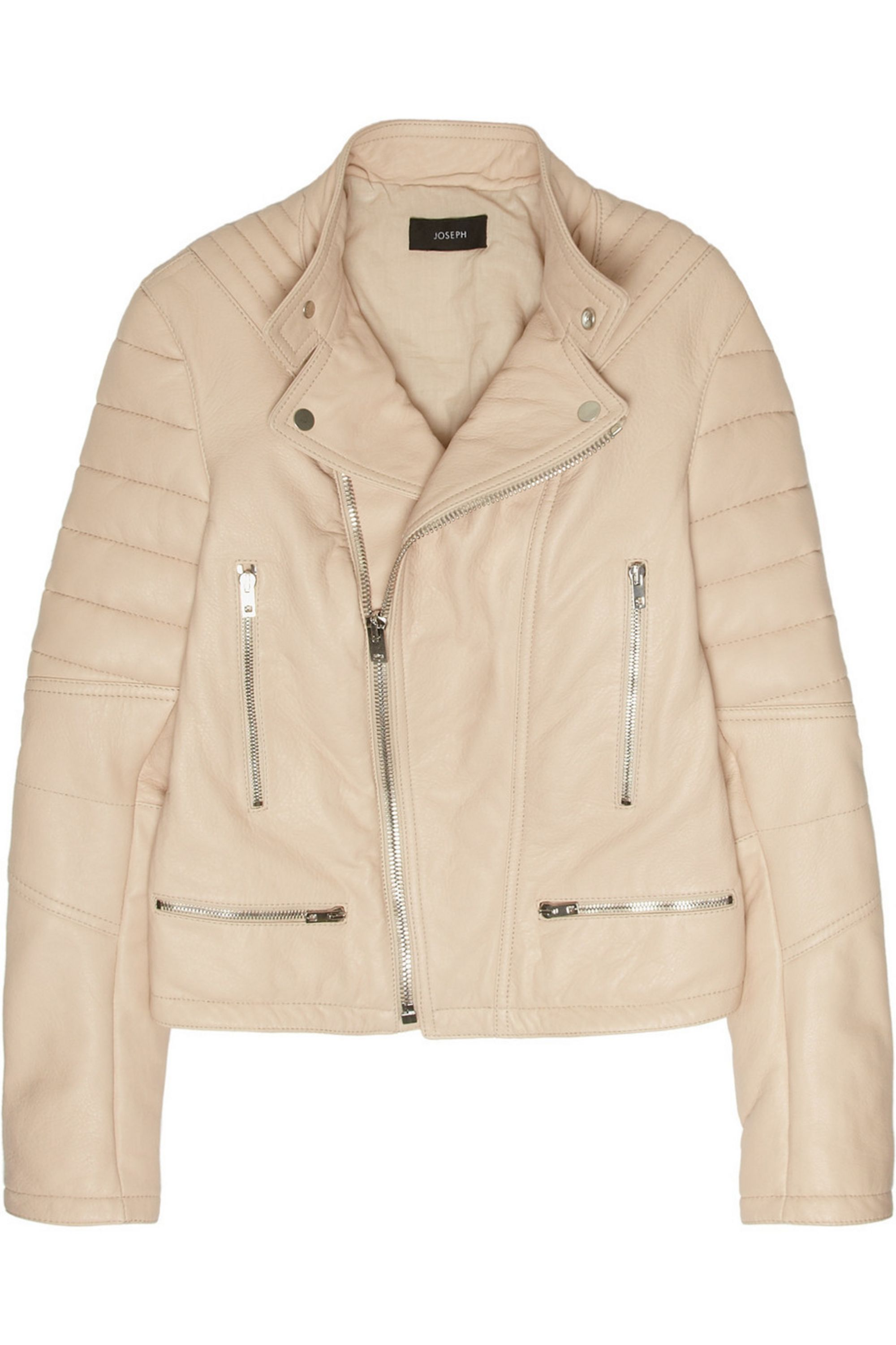 Joseph Quilted leather biker jacket