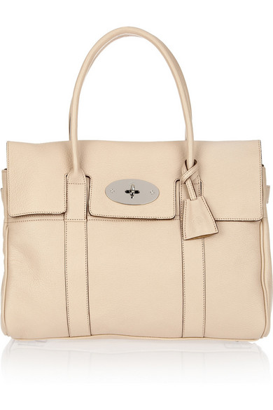 Mulberry | Bayswater textured-leather bag