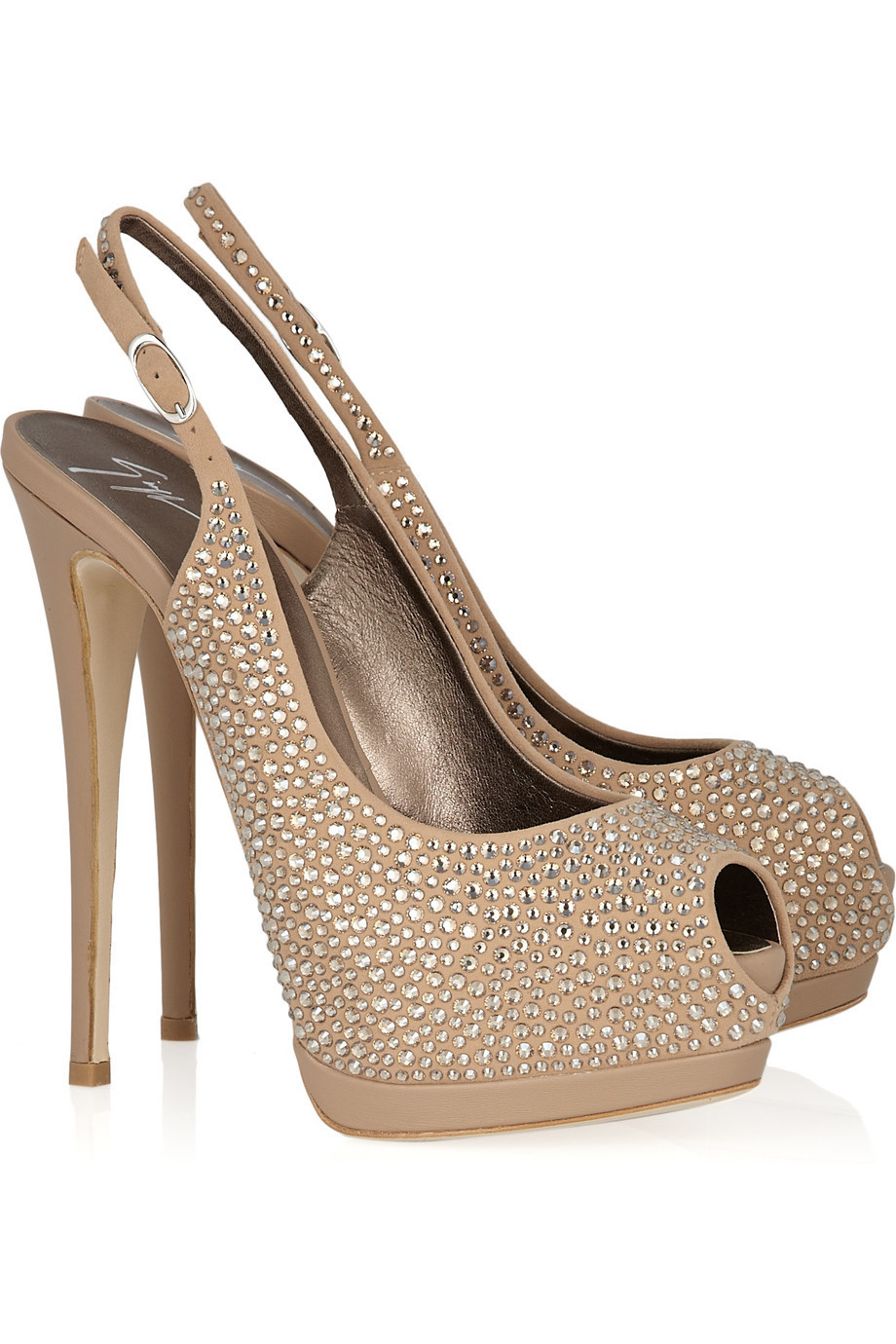 Where Can I Buy Giuseppe Zanotti Slingbacks - Product 178610