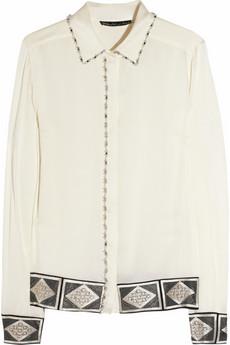 Модные блузки 2012 можно разделить на 2 направления рубашки по типу...
