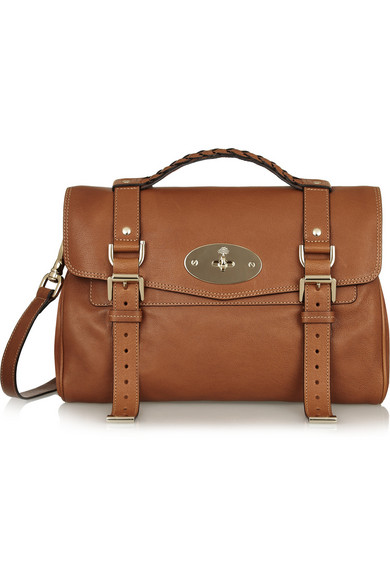 Mulberry. The Alexa leather satchel a404fd3b343c7