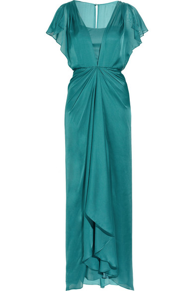 Sale alerts for Venus waterfall silk gown Temperley London - Covvet