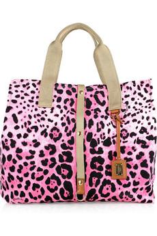 Леопардовая tote сумка, Dolce & Gabbana.