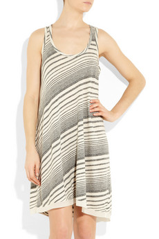 CLU | Striped jersey tank dress | NET-A-PORTER.COM