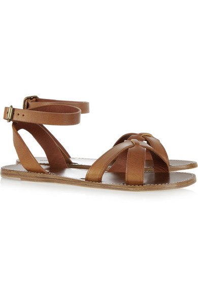 be8097a17f559 Isabel Marant. Merry leather sandals