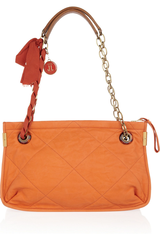 Lanvin Amalia Medium leather shoulder bag