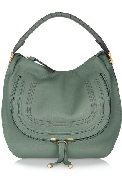 529ab64a8 Chloé | Marcie Large leather hobo bag | NET-A-PORTER.COM