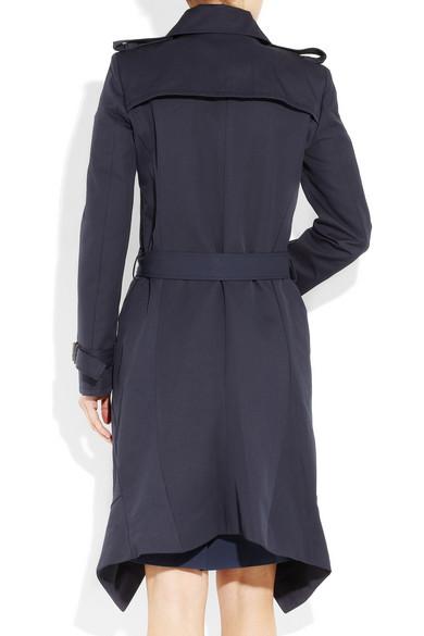 f08911330e Cotton-gabardine trench coat