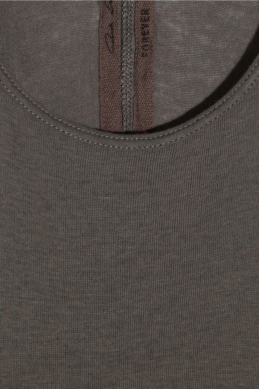 Rick Owens Cotton-jersey tank maxi dress