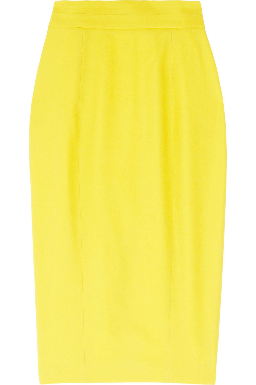 L'Wren Scott Wool-blend pencil skirt