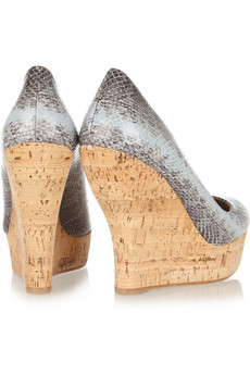 Snakeskin Shoes Womens