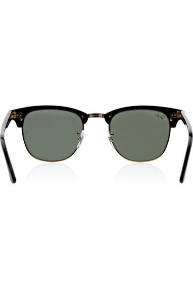 f13daac63a Ray-Ban. Clubmaster half-frame acetate sunglasses