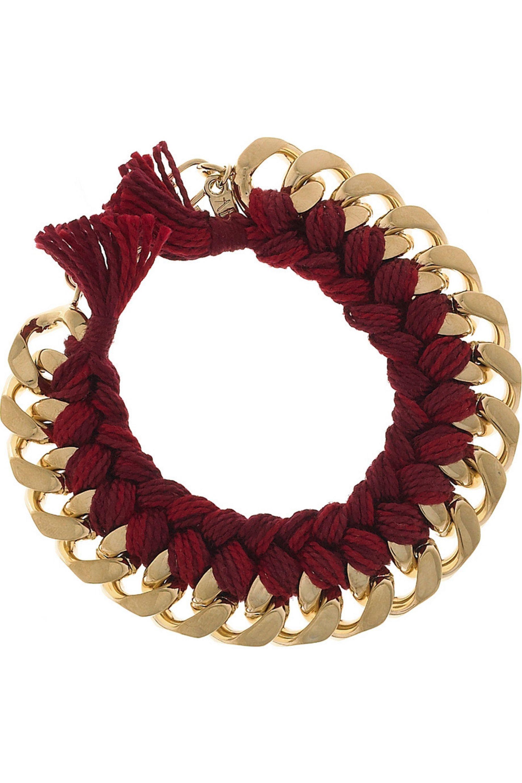 Aurélie Bidermann Do Brazil 18-karat gold-plated bracelet
