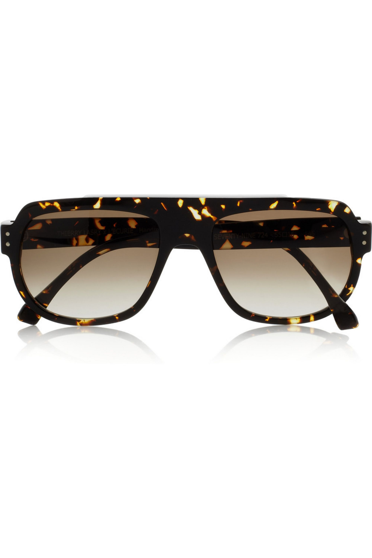 Thierry Lasry The 79 tortoiseshell acetate aviator sunglasses