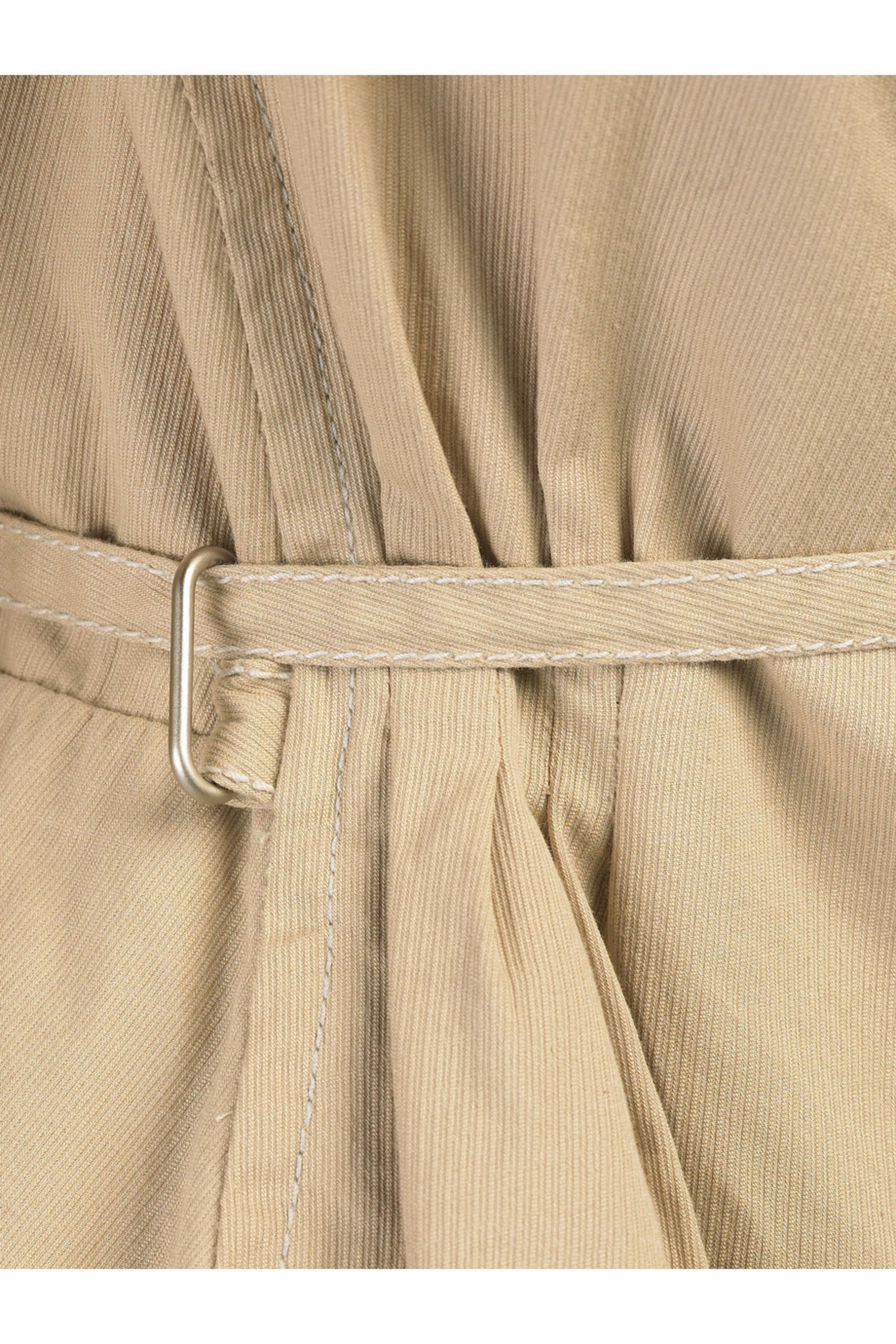 Hanii Y Cropped cotton trench