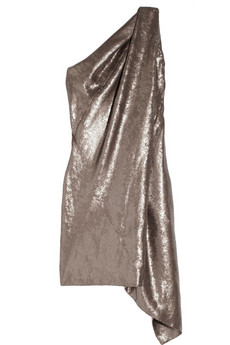 KAUFMANFRANCO | Sequined asymmetric one-shoulder dress | NET-A-PORTER.COM from net-a-porter.com