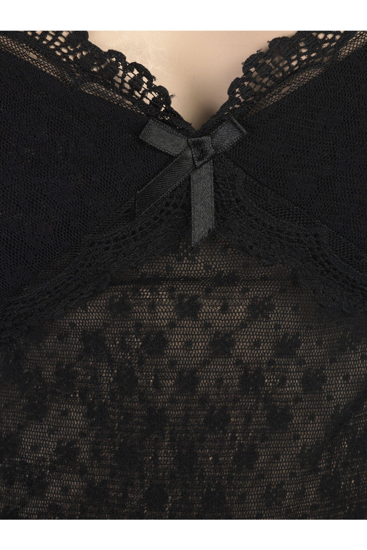 Jovovich-Hawk Honey mesh dress