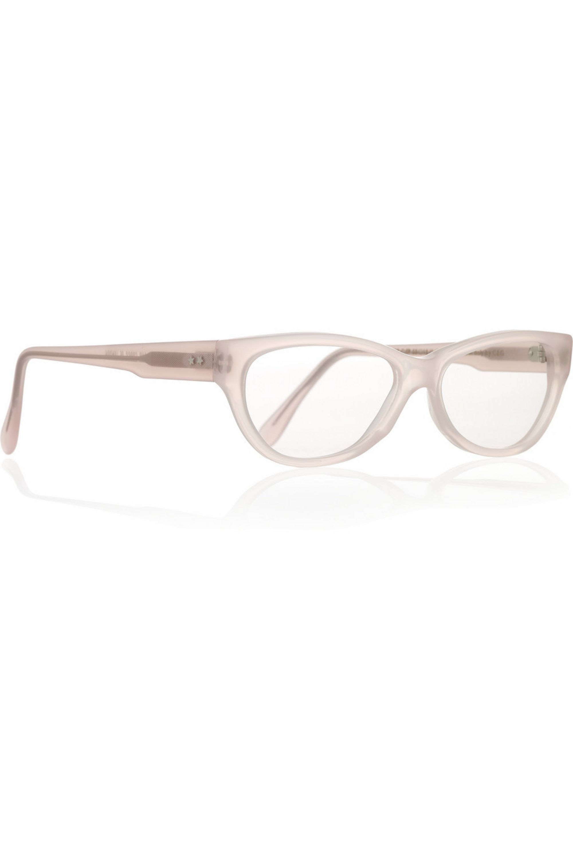 Cutler and Gross Cat eye acetate optical glasses
