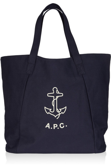 e24e3a85ea2f Printed cotton-canvas tote