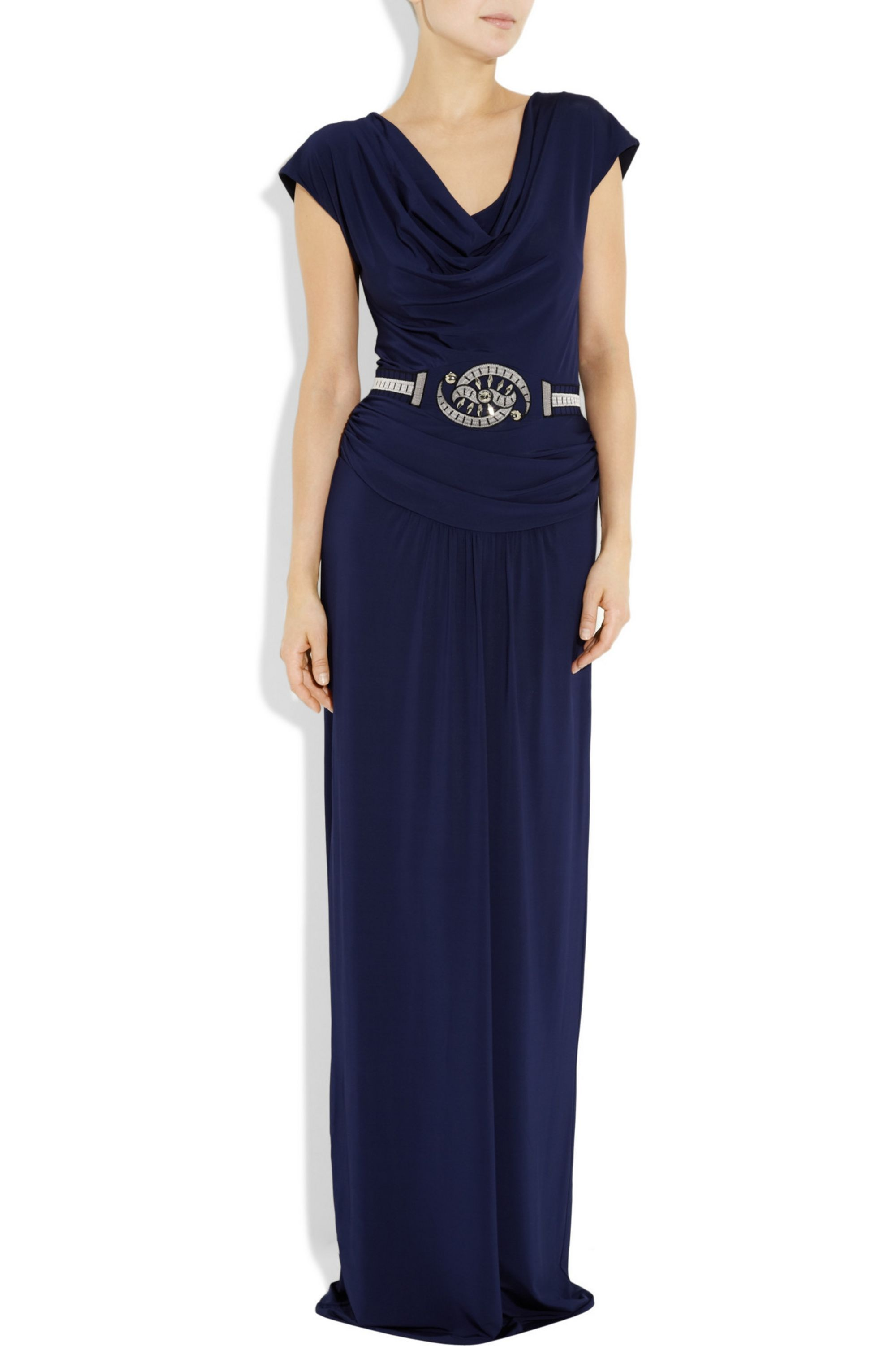 ALICE by Temperley Moonlight crepe-jersey gown