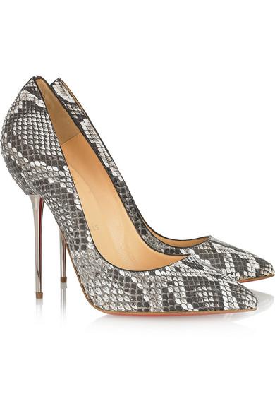 the best attitude 8e4ef 712b6 Lipsinka 120 pin-heeled python pumps