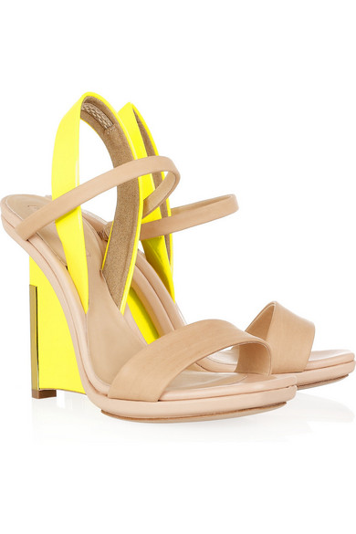 clearance popular buy cheap authentic Reed Krakoff Leather Wedge Sandals get to buy online hot sale sale online cheap low price fee shipping SdA9nI