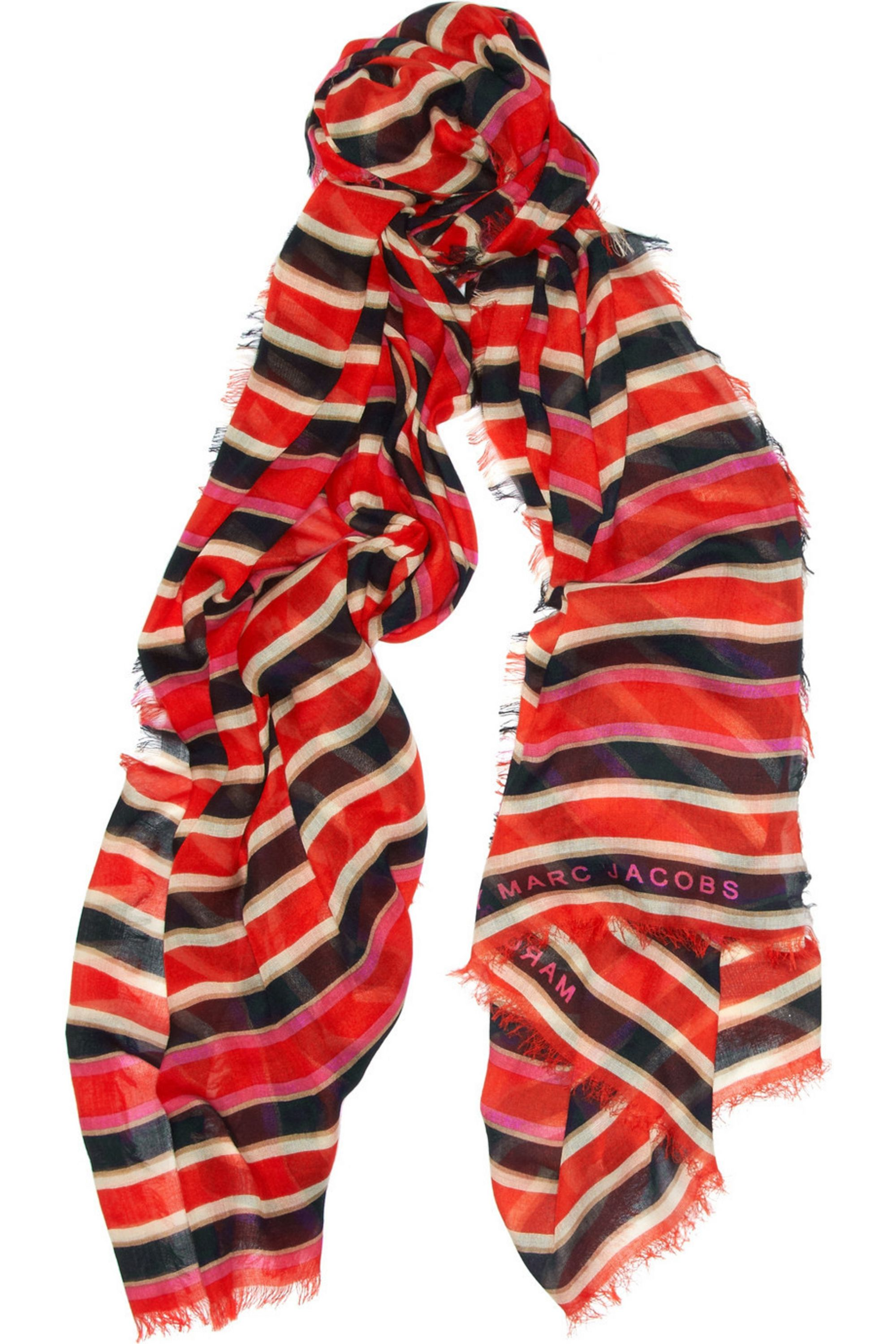 Marc by Marc Jacobs Jacobson striped modal scarf