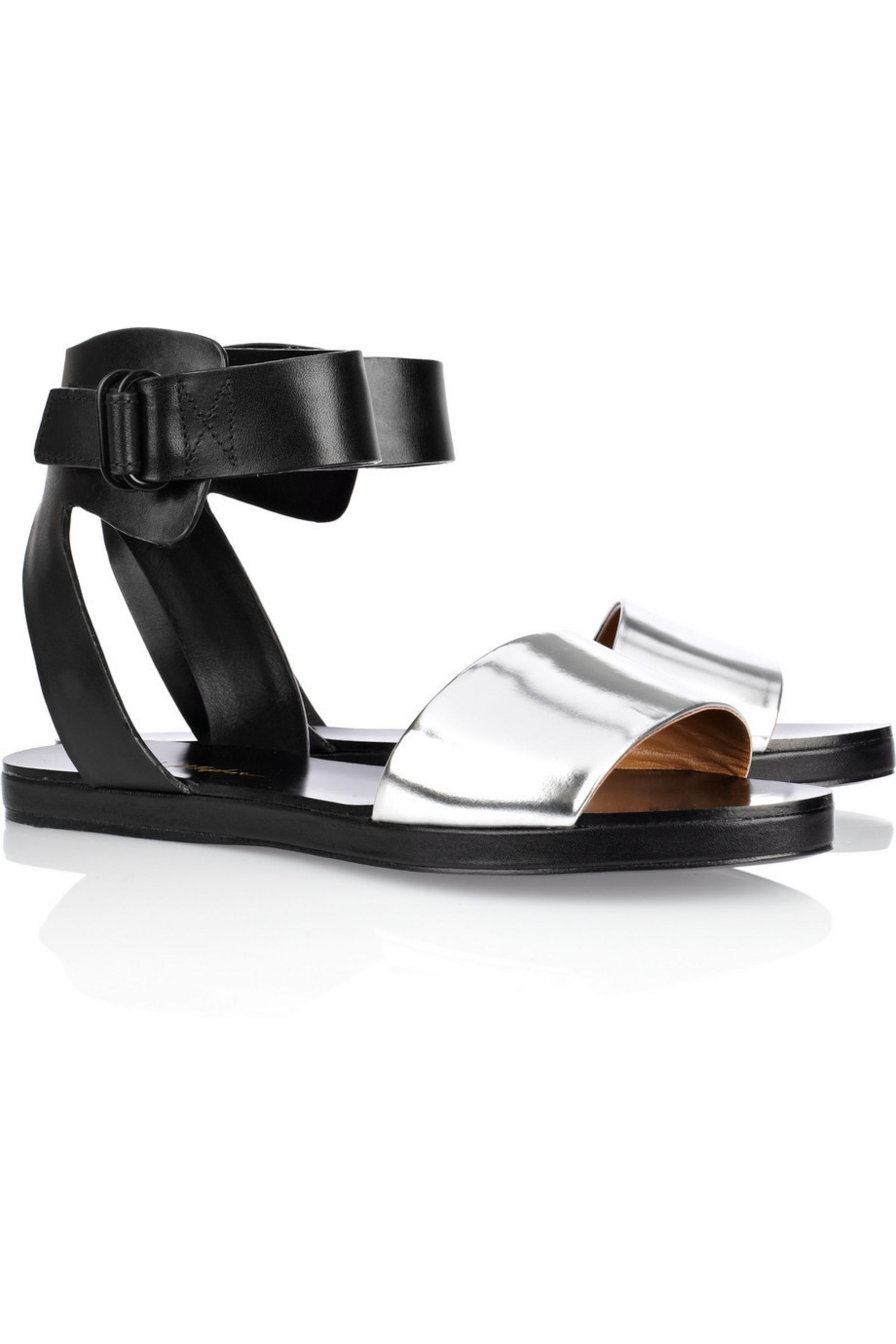 3.1 Phillip Lim Domina two-tone leather sandals