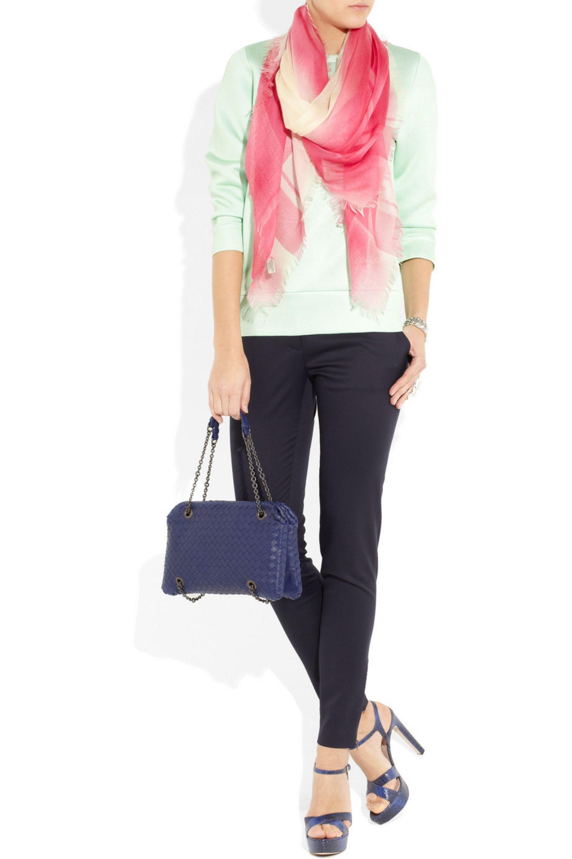 Bottega Veneta Duo intrecciato leather shoulder bag