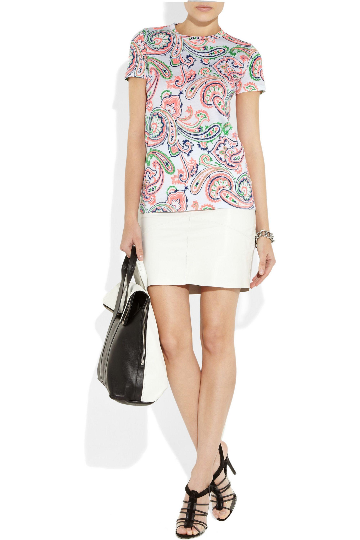 Jil Sander Paisley-print cotton T-shirt