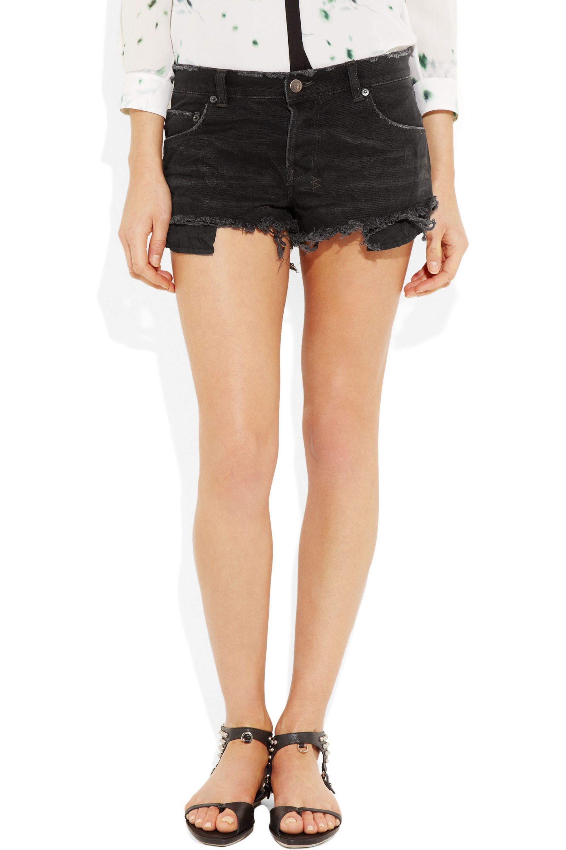 Ksubi Albuquerque cut-off denim shorts